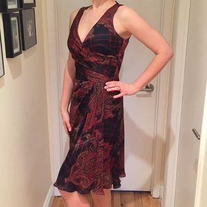 Ralph Lauren Silk Dress